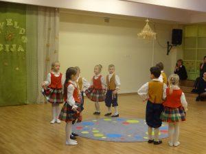 """Įstaigoje organizuotas Vilniaus miesto ikimokyklinių įstaigų tautinių šokių festivalis """"Paveldo gija"""" (2019 m. lapkritis)"""